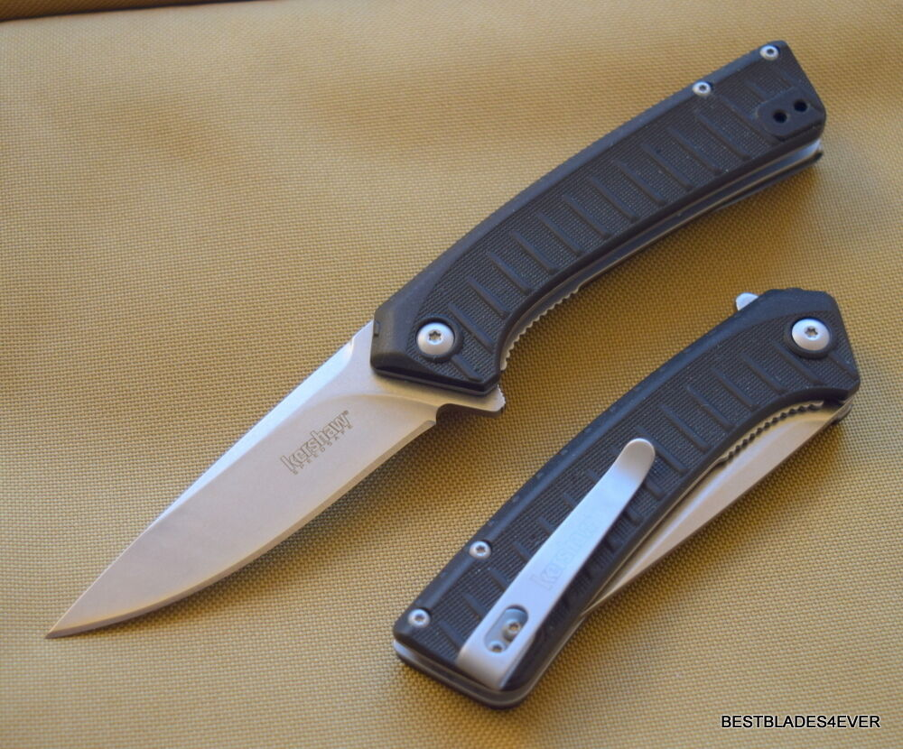 kershaw entropy spring assisted knife razor sharp blade with