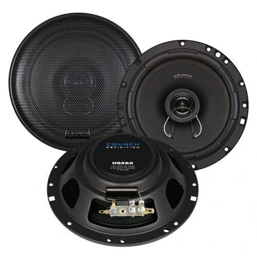 Crunch DSX62 Flat Speaker 2 Way Coax 16,5 CM DSX-62 100/200 Watt, 1 Pair