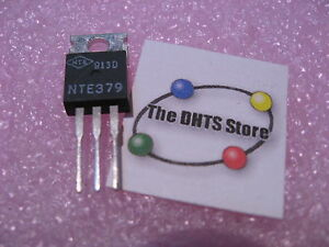Qty-1-NTE379-NPN-Silicon-Transistor-Power-Amplifier-TO-220-NOS-Vintage