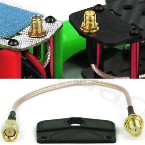 FPV-Antennen-Kabel-Verlaengerungskabel-fuer-FPV-Racer-5-8GHz-SMA-Montage-Platte