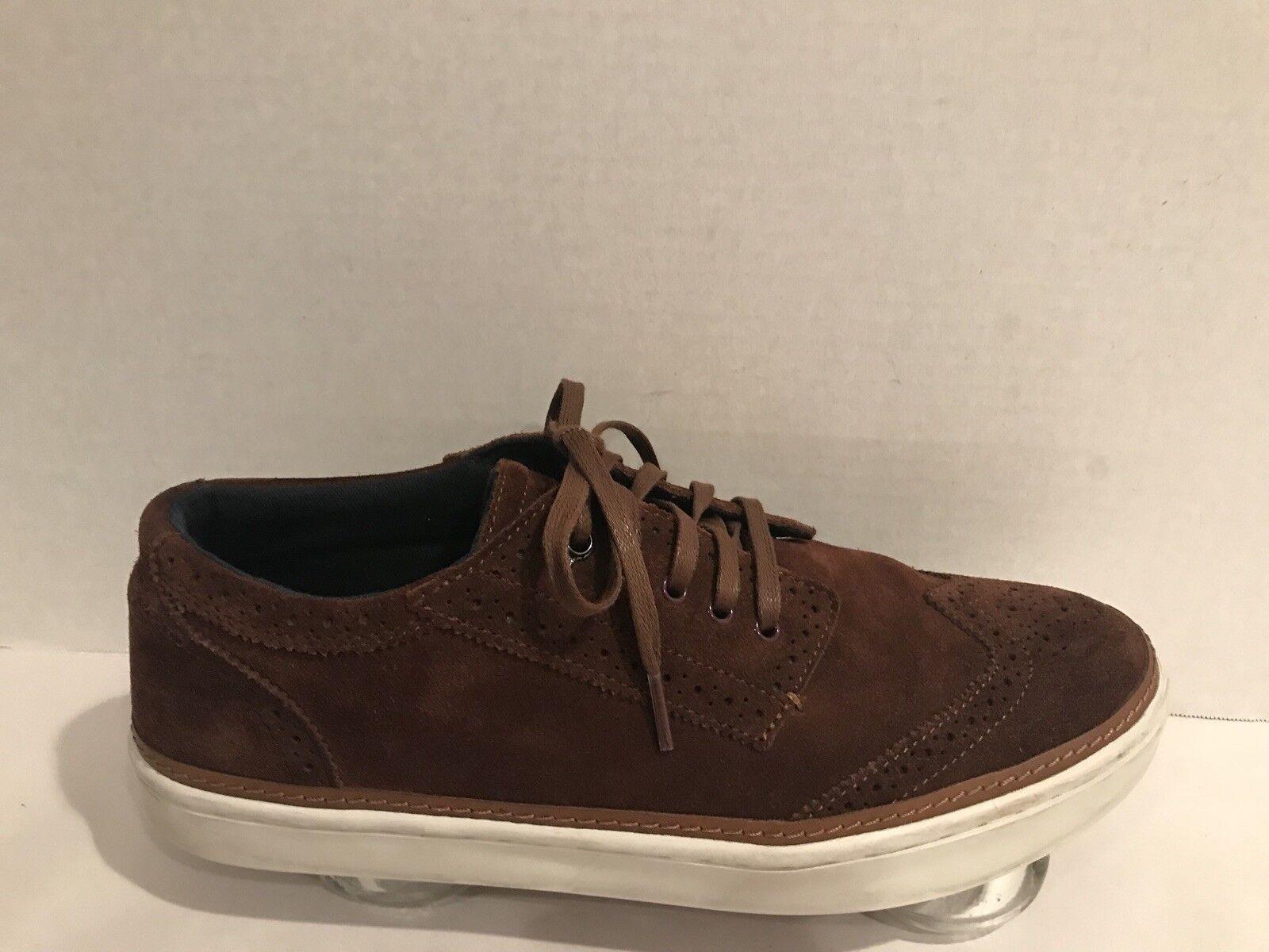 TED BAKER Byran   Herren Br Suede Wingtip Fashion Größe Sneaker Casual Schuhes Größe Fashion 10 US ebcede