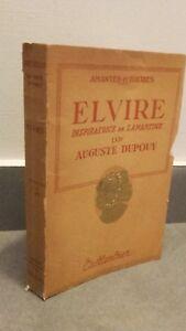 Guantone Di L'Autore Elvire Ispirazione Di Lamartine A.Dupouy Furet 1944