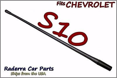 "1982-2003 Chevy S10-13/"" SHORT Custom Flexible Rubber Antenna Mast FITS"