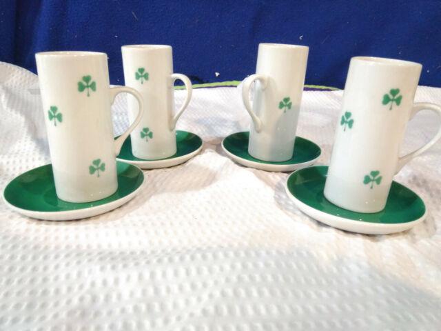 "2 LaGardo Tackett For Schmid Porcelain 60s Orange /& White Tall Mugs Cups 5 3//8/"""