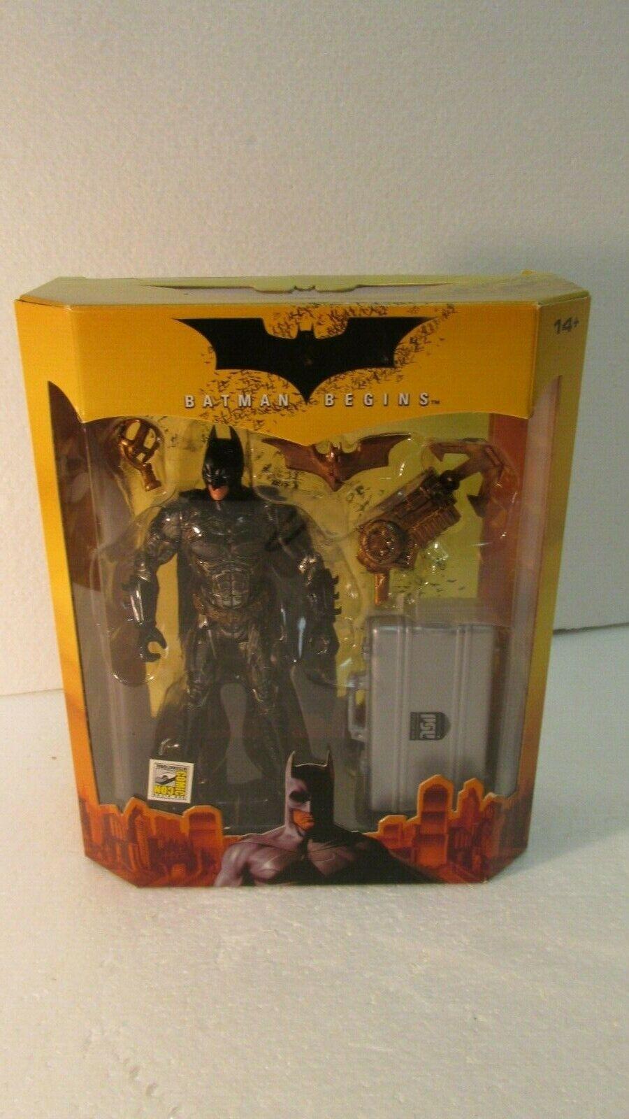Mattel Sdcc 2005 Exclusivo Batman Comienza Masked Variante Figura de Acción