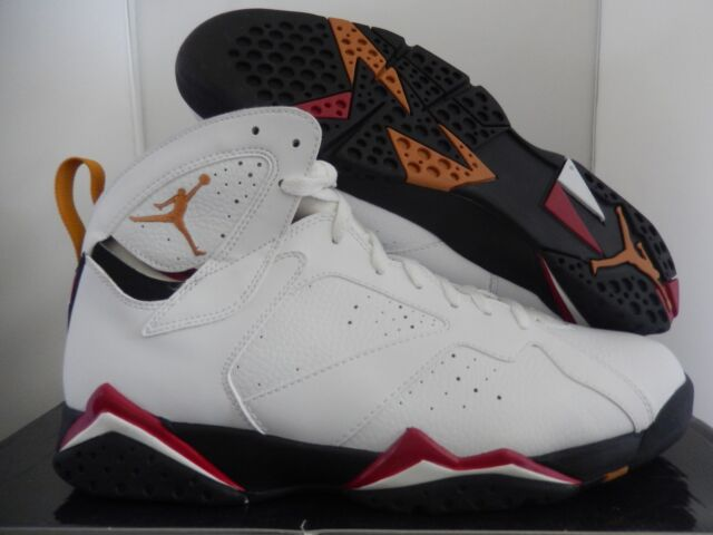 467e314757ac7f 2011 Nike Air Jordan 7 Retro Sz 12 White Bronze Cardinal Red Black 304775104