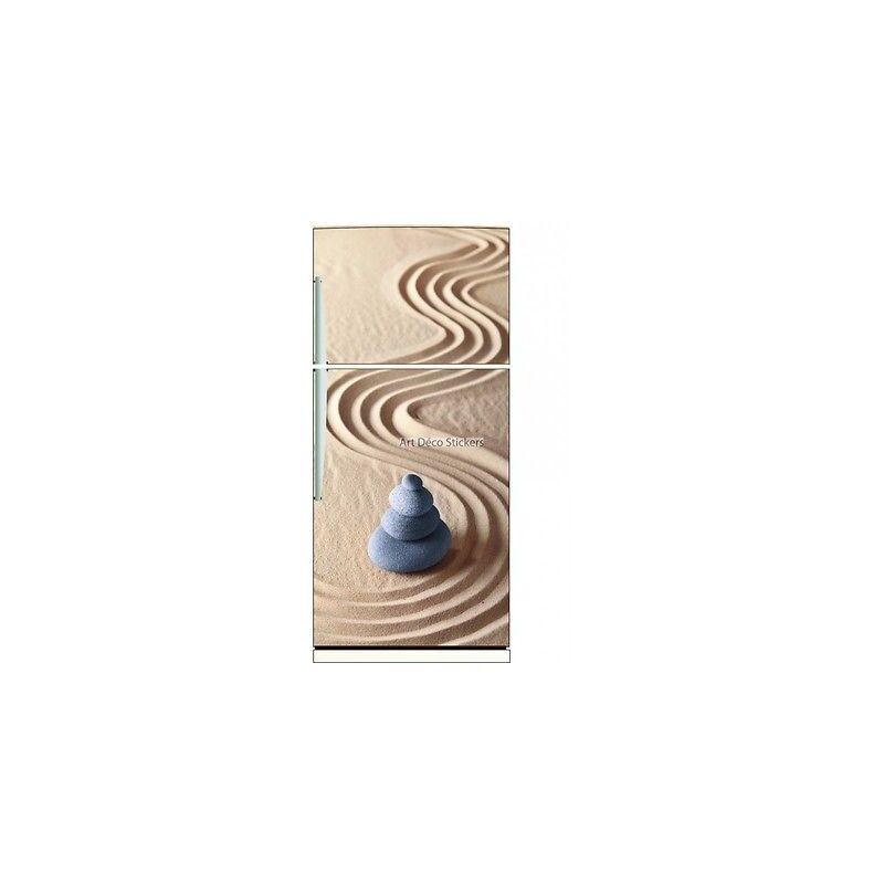 Magnet frigo Galets Sable réf 6216 6216- Art déco stickers