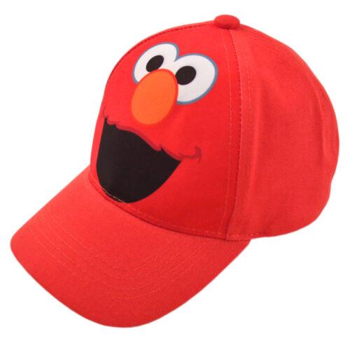 Sesame Street Elmo Character Cotton Baseball Cap Age 2-4 Toddler Boys