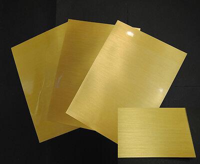 HD Metal Gold /& Chrome Inkjet Printable HD Metal//3M 8518-20 8.5X11 sheets