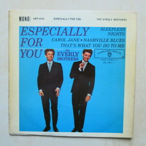 THE-EVERLY-BROTHERS-Especially-For-You-UK-7-034-EP-Warner-Bros-WEP-6034-1960