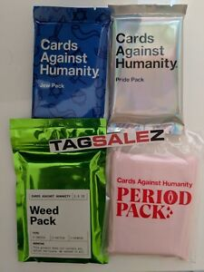 Cards-Against-Humanity-CAH-GAY-PRIDE-WEED-PERIOD-JEW-Expansion-Packs