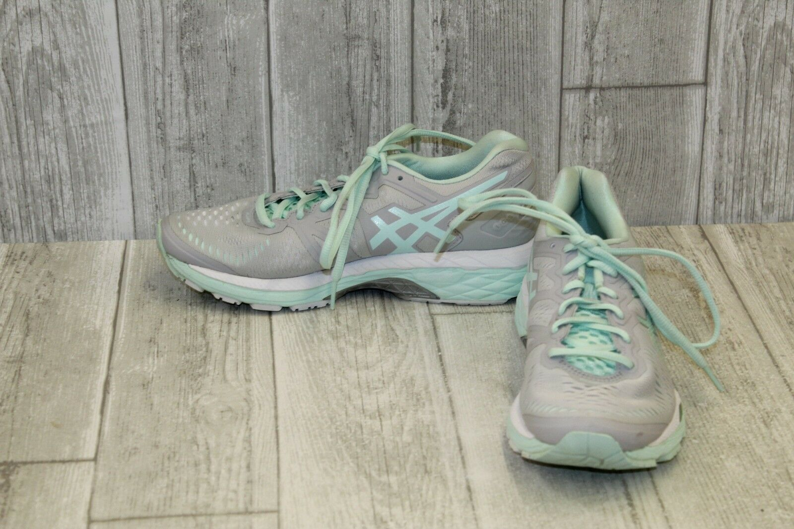 Asics Gel-Kayano 23 Zapatillas-Para Mujer Talla 7, gris Espuma Espuma Espuma mar  solo para ti