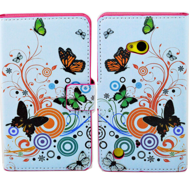 HOT Flip Holster Leather Skin Wallet Hard Cover Case Pouch For Nokia Cell Phone