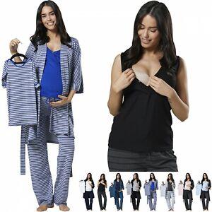 eec503546aa Zeta Ville Women's Maternity Nursing Pyjama Set Baby Mama Matching ...