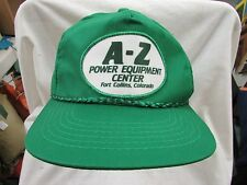 trucker hat baseball power equipment fort collins center patch snapback cool