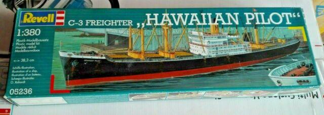 HAWAIIAN PILOT C-3 FREIGHTER  REVELL 1/380