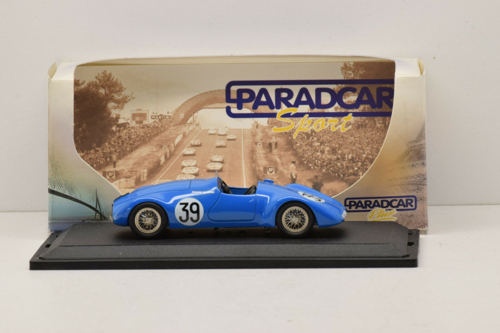 Simca gordini le - mans - 1939   39 paradcar 1   43 é tat neuf en boite