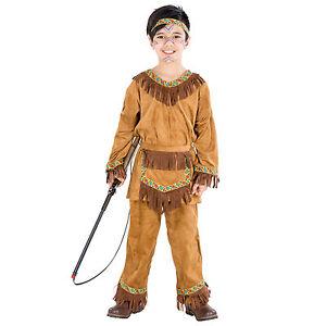 Deguisement-pour-garcon-indien-ouest-sauvage-rouge-Indiens-costume-entfant-robe