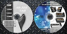 1.708 Patches ZOOM G2Nu-G2.1Nu-G3-G3X-G5.Custom Tone & 48.328 Guitar Tablatures
