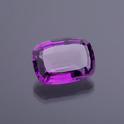 Amethyste Antik facettiert 12,34 Ct. 17 x 13 mm (118) real Amethyst