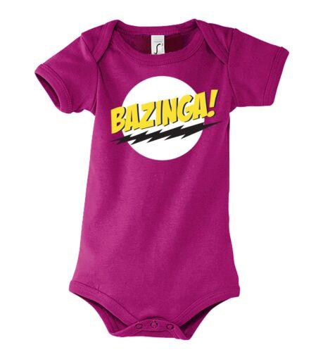 TRVPPY Baby Body Strampler Modell Bazinga Cooper Superman Sheldon Kinder Shirt