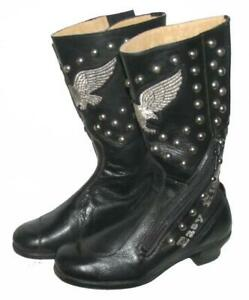 """ EASY RIDER "" Herren- Motorradstiefel / Stiefel / Boots in schwarz Gr. 42"