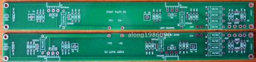 One pair F5 25W Class A Power amplifier bare PCB 2 channel PCB board