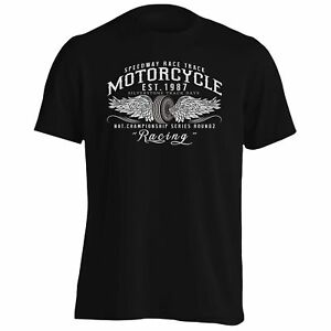 Moto-1987-Racing-Biker-Hommes-T-shirt-Debardeur-z891m