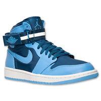 342132-407 Nike Air Jordan Retro 1 High Strap French Blue/Univ Blue/Wht 8-12 NIB