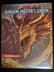Dungeon-Master-039-s-Screen-Original-Version-NEW-IN-SHRINK-5th-Edition-D-amp-D-5-0