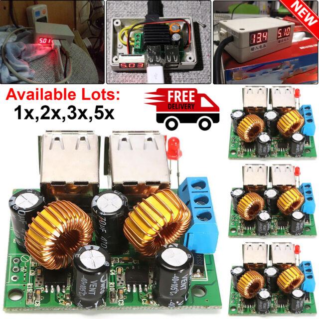 DC 6-20V 18V to 5V 2A USB Solar Panel Power Charger Regulator Folding bag 12V