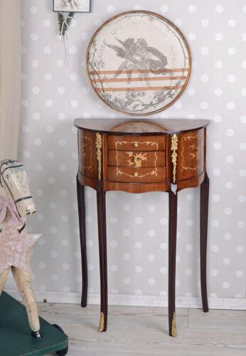 Wandkonsole INTARSIEN Konsole Barock Tisch Konsolentisch Wandtisch Antik