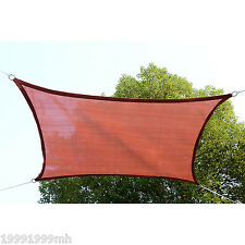 Outsunny Sun Sail Shade 20u0027x13u0027 Rectangle Awning Shelter Canopy Top Cover  Patio