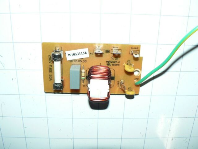 Sharp Microwave Noise Filter Board