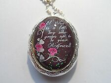SILVER PLATED LOCKET-A SON IS A LITTLE BOY WHO GROWS UP TO BE YOUR BEST FRIEND