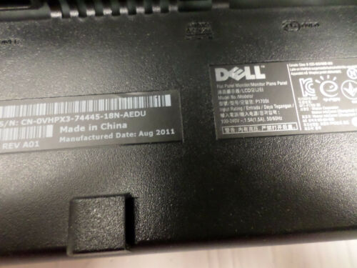 """Dell P170St 17/"""" 1280 x 1024 LCD Monitor with Dell 1KAIO-01 Power Stand 0VHPX3"""