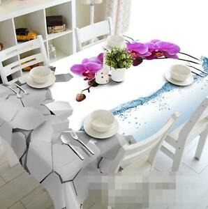 3D Phalaenopsis 1 Tablecloth Table Cover Cloth Birthday Party Event AJ WALLPAPER