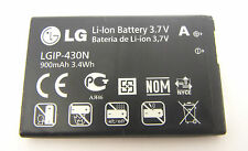 Original LG C300 C320 GM360 GS290 T300 LGIP-430N 900mAh Akku Battery Batterie