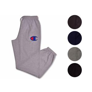 81619151 Champion Mens Big and Tall Fleece Logo Lounge Workout Sweatpants