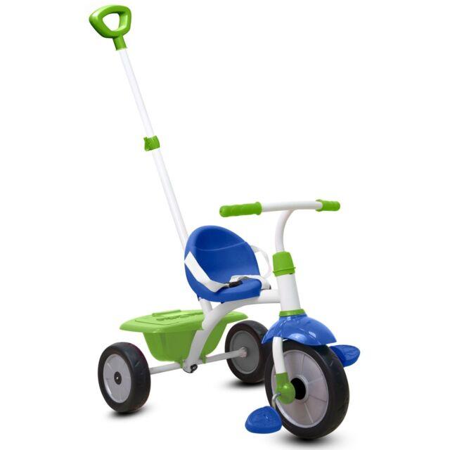 Smart Trike Dreirad Fun 2 in 1 von 15 - 36 Monate blau/grün/weiß