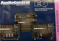 Audio Control Eqs, 6 Channel Trunk Mount 13-band Graphic Equalizer (black)