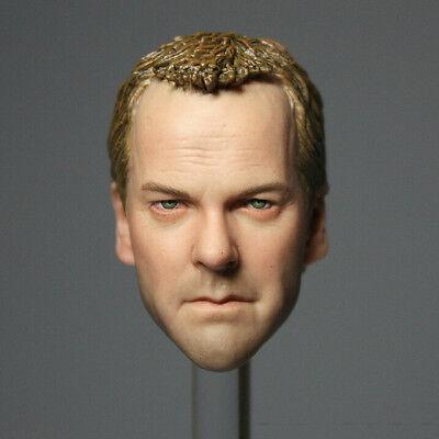 HOT FIGURE TOYS 1/6 HEADPLAY Kiefer Sutherland head carving 24 Jack Bauer
