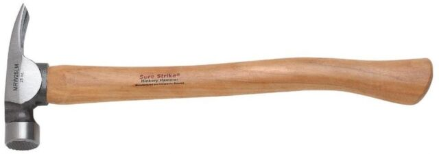 Estwing 25 Oz. Premium Hickory Wood Handle California Framing Rip Claw Hammer