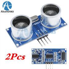2pcs Ultrasonic Sensor Module Hc Sr04 Distance Measuring Sensor For Arduino Sr04