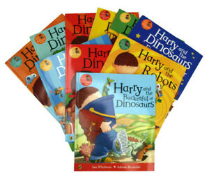 Harry-And-The-Dinosaurs-10-Book-Collection-Set-Children-Kids-Picture-Books-New