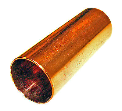 """Copper Guitar Slide: 2 1/4"""", Great for Cigar Box Guitar! Made in USA - 90-03-01"""
