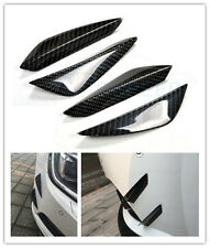 4pcs/set Carbon Fiber Front Bumper Lip Kit /Canard/Splitter for Benz,BMW, AUDI