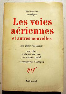 RUSSIE-PASTERNAK-LES-VOIES-AERIENNES-NOUVELLES-ED-NRF-1966