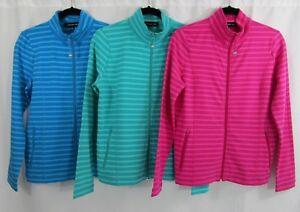 Jones-New-York-Women-039-s-Full-Zip-Mock-Neck-Jacket-Color-Variety-XS-S-NWT