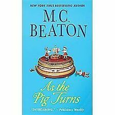 As the Pig Turns: An Agatha Raisin Mystery (Agatha Raisin Mysteries)-ExLibrary